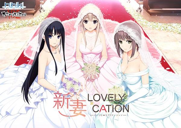「新妻LOVELY×CATION」パッケージ画像