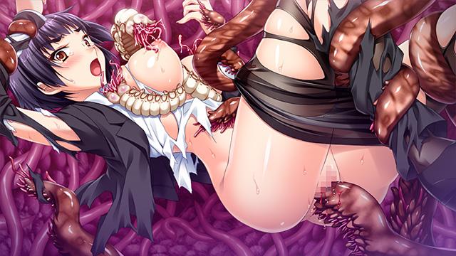 「敗北の淫獣ハンター・月氷姫レイ」サンプル画像1